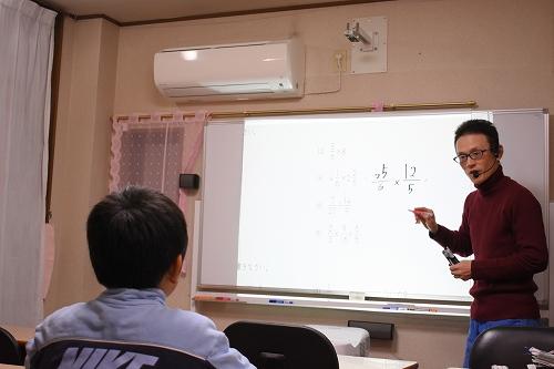 浜松浜北学習塾ロイヤルロード小学6年授業中
